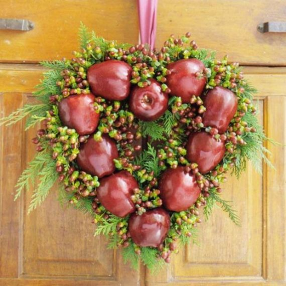 Splendid Fall Wreaths & Door Decoration Ideas And Inspiration_021