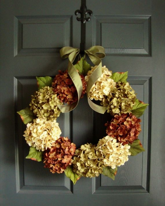 Splendid Fall Wreaths & Door Decoration Ideas And Inspiration_035