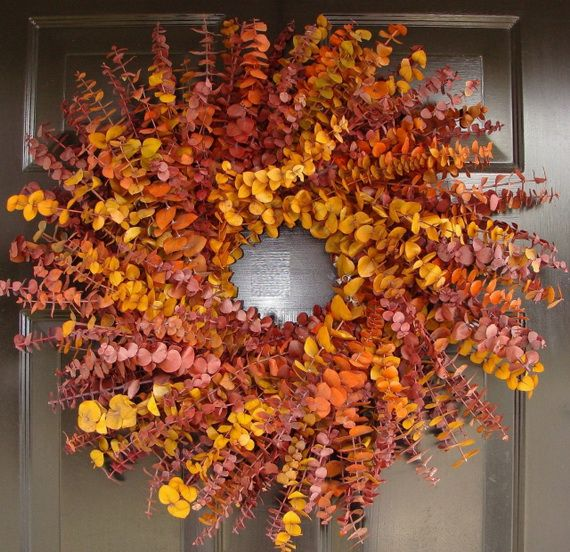 Splendid Fall Wreaths & Door Decoration Ideas And Inspiration_039