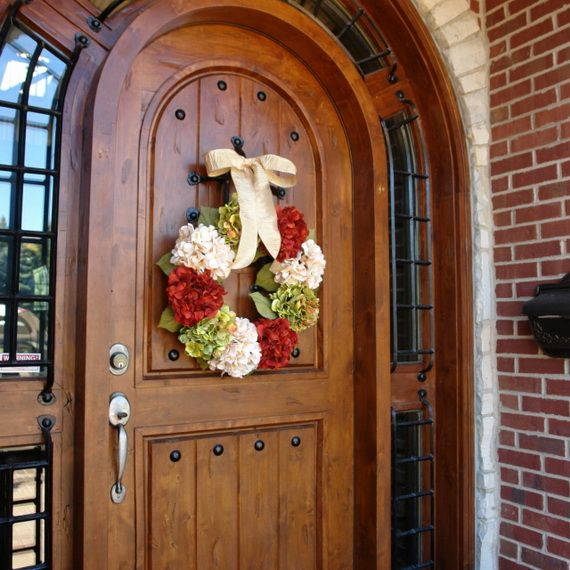 Splendid Fall Wreaths & Door Decoration Ideas And Inspiration_055