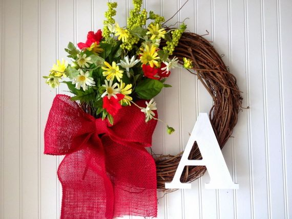 Splendid Fall Wreaths & Door Decoration Ideas And Inspiration_096