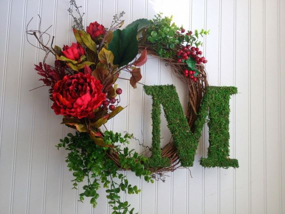 Splendid Fall Wreaths & Door Decoration Ideas And Inspiration_100