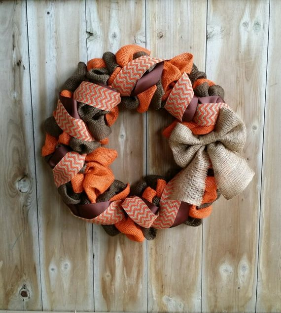 Splendid Fall Wreaths & Door Decoration Ideas And Inspiration_109