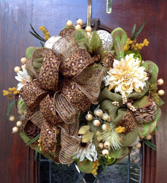 Splendid Fall Wreaths & Door Decoration Ideas And Inspiration_114