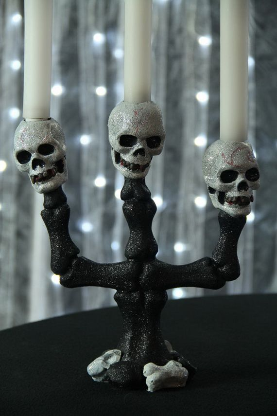 Spooky Halloween Lighting & Candles Decoration Ideas _41