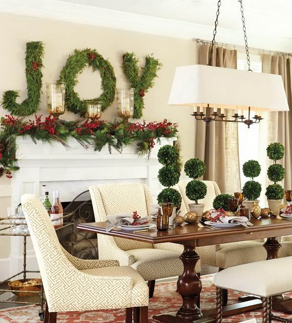 Traditional French Christmas Decorations Style Ideas 13