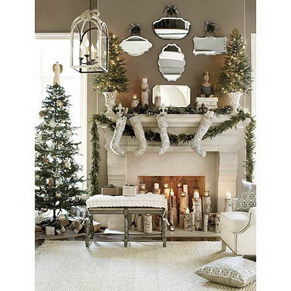traditional french christmas decorations style ideas_21 - French Style Decoration