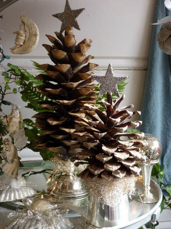 40 awesome pinecone decorations for the holidays family