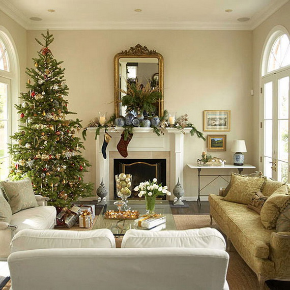 Delightful Stylish Home Design Ideas Part - 6: 50 Christmas Decorating Ideas To Create A Stylish Home_03