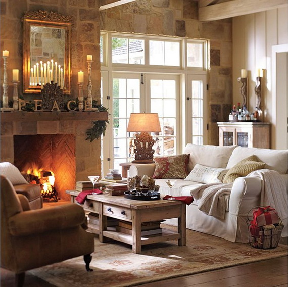 50 Christmas Decorating Ideas To Create A stylish Home_04