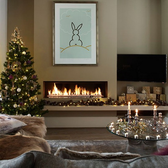 50 Christmas Decorating Ideas To Create A stylish Home_16