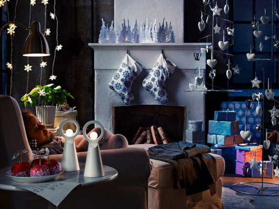 50 Christmas Decorating Ideas To Create A stylish Home_35