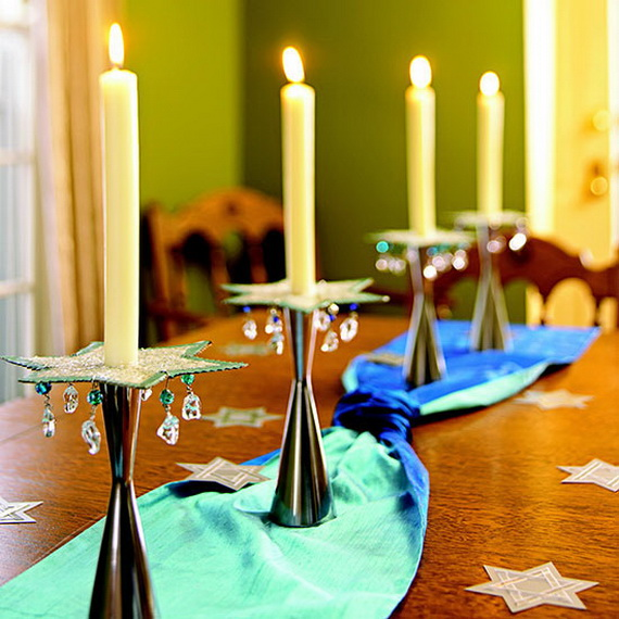 Classic and Elegant Hanukkah decor ideas_04