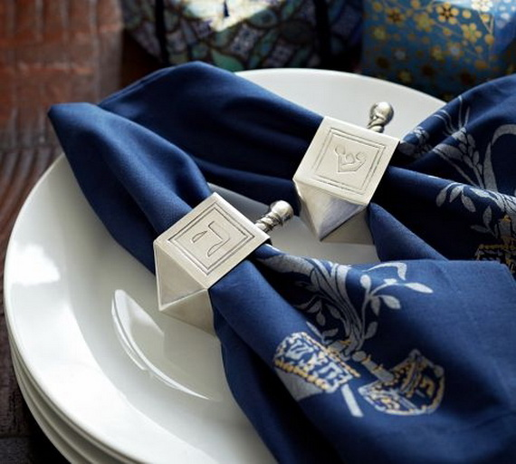 Classic and Elegant Hanukkah decor ideas_34