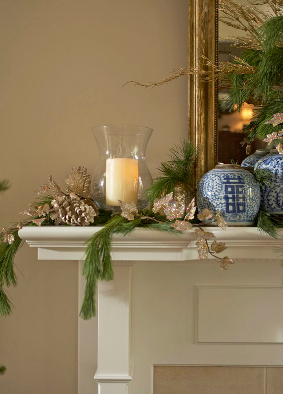 Classic and Elegant Hanukkah decor ideas_42