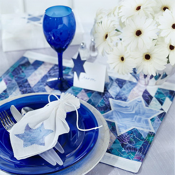 Classic and Elegant Hanukkah decor ideas_44