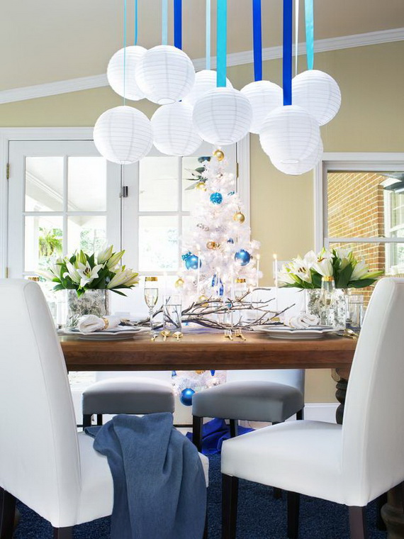 Clic And Elegant Hanukkah Decor Ideas 53