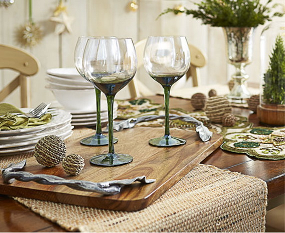 Classic and Elegant Hanukkah decor ideas_70