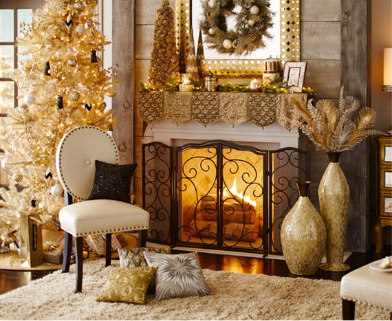 cozy christmas decoration ideas bringing the christmas spirit_14 - Interior Christmas Decorating Ideas
