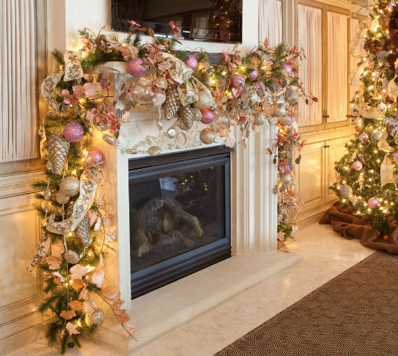 Creative Holiday In Gold Decorating Ideas 2