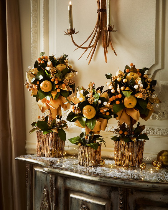 Creative Holiday In Gold Decorating Ideas_05