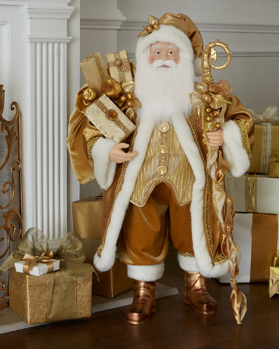 Creative Holiday In Gold Decorating Ideas_09