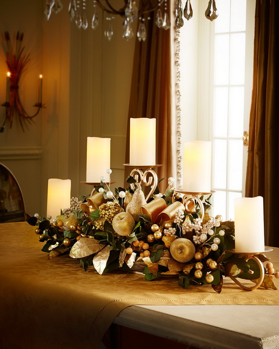 Creative Holiday In Gold Decorating Ideas_14