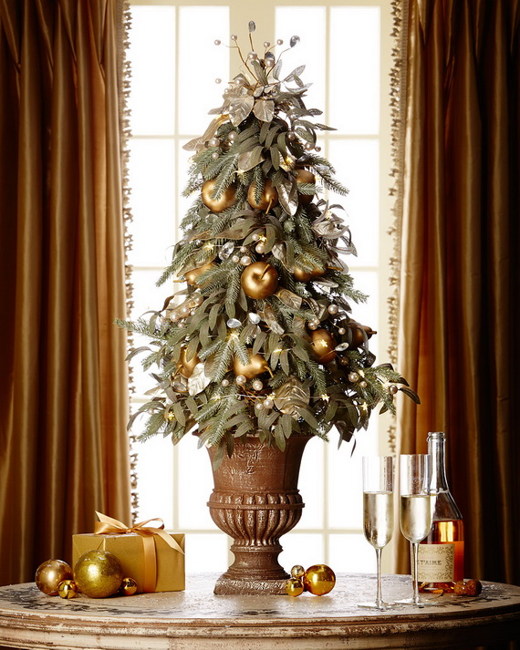 Creative Holiday In Gold Decorating Ideas_20