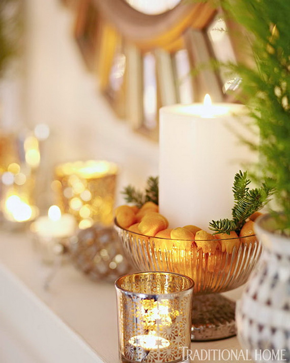 Creative Holiday In Gold Decorating Ideas_39