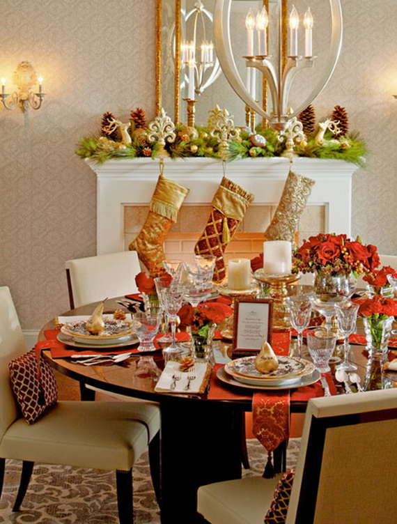Creative Holiday In Gold Decorating Ideas_44