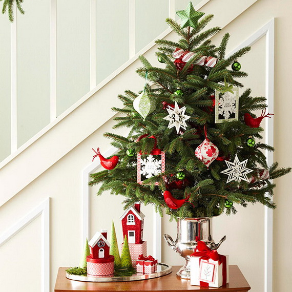 Marvelous Holiday Decorating Ideas For Small Spaces Part - 2: Festive Holiday Decor Ideas For Small Spaces (1)