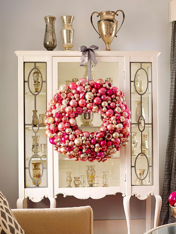 Festive Holiday Decor Ideas for Small Spaces (24)
