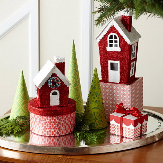 60 festive holiday decor ideas for small spaces family to family holidays on - Christmas decorations small apartments ...