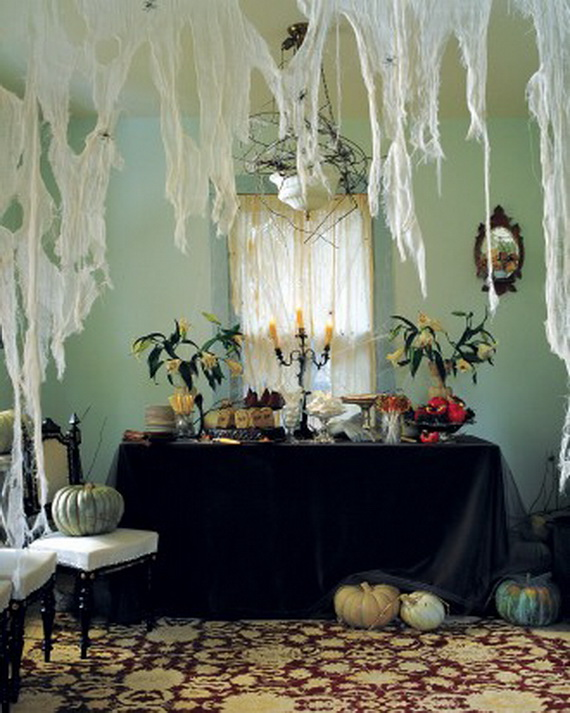 Ghostly Halloween Decoration Ideas for October 31st_11