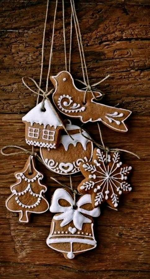 gingerbread decoration ideas christmas craft idea_003