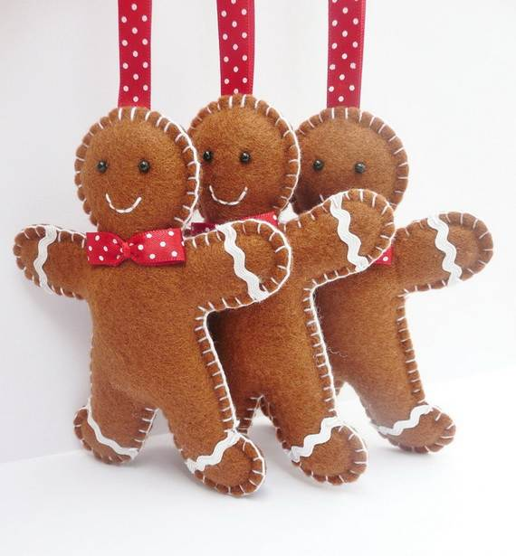 gingerbread decoration ideas christmas craft idea_010