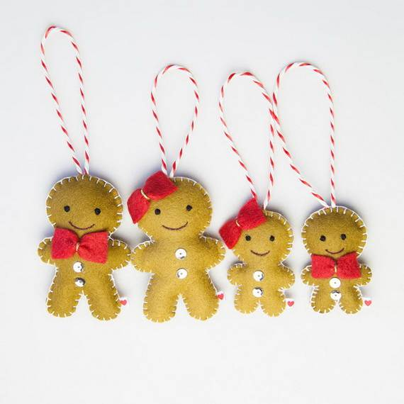gingerbread decoration ideas christmas craft idea_049