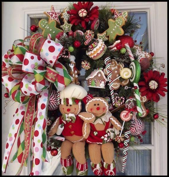 gingerbread-wreath