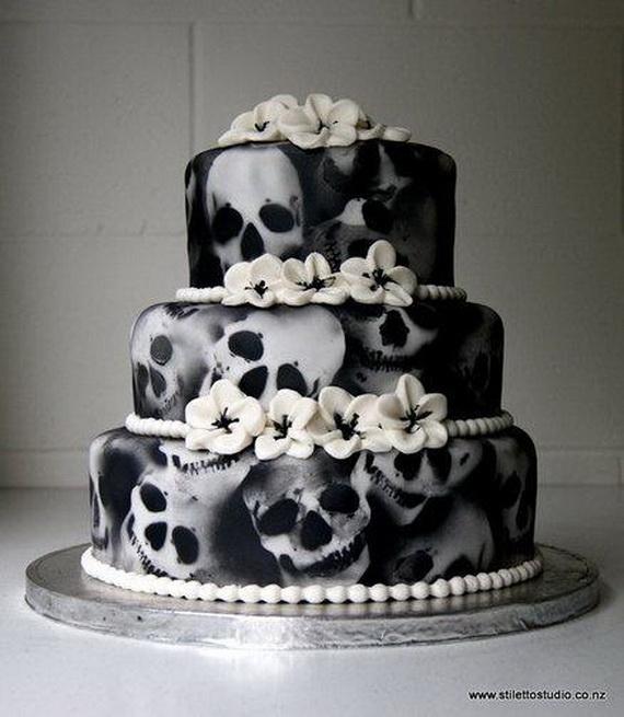 Halloween Themed Wedding Inspiration Ideas_2