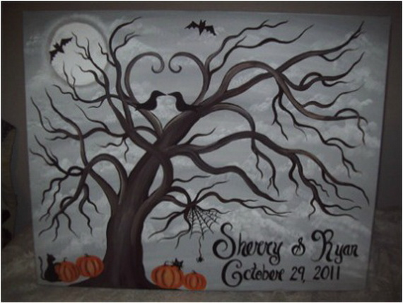 Halloween Themed Wedding Inspiration Ideas_54