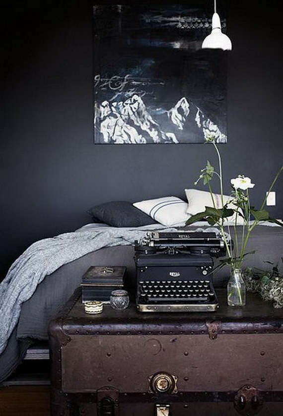 Hauntingly Spooky Dark Interiors Inspired By Halloween_21