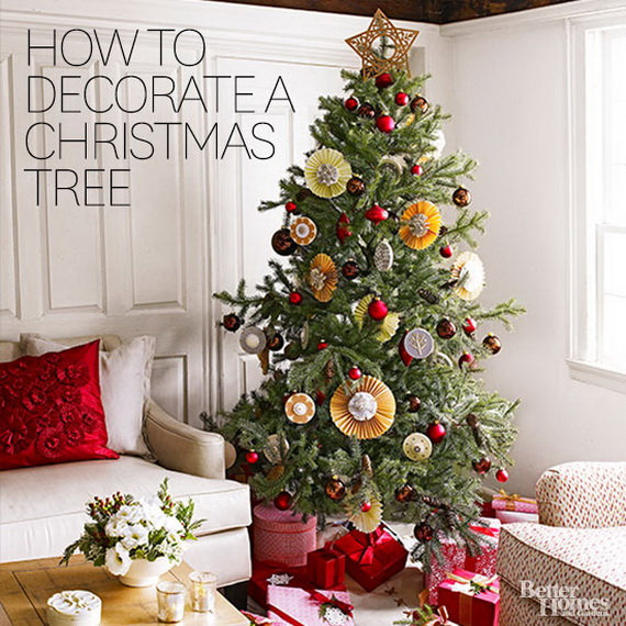 How To Decorate A Christmas Tree Traditionally In Easy