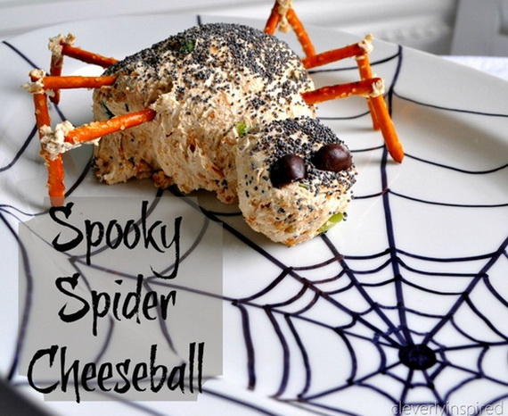 Sweet and salty Edible Halloween Decoration Ideas for kids