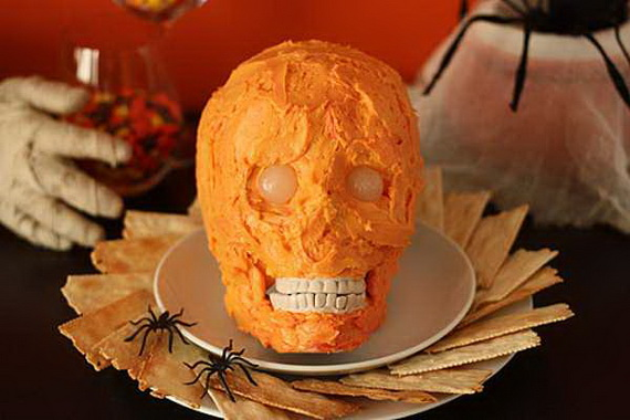 Sweet and salty Edible Halloween Decoration Ideas for kids _17