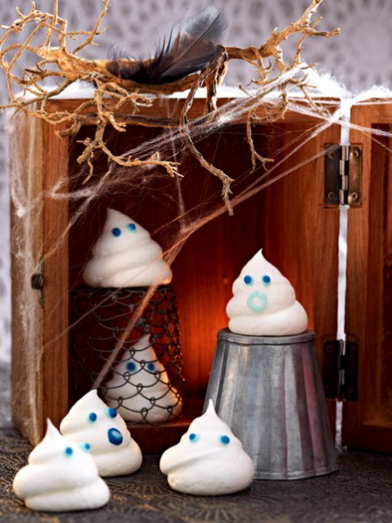 Sweet and salty Edible Halloween Decoration Ideas for kids _25
