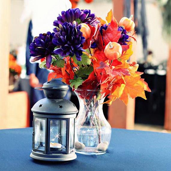 Whimsical Spooky Halloween Table Decoration Wedding Ideas _1