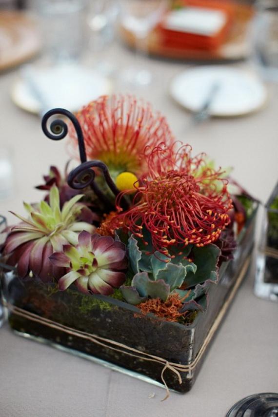 Whimsical Spooky Halloween Table Decoration Wedding Ideas _14