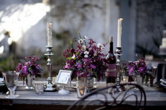 Whimsical Spooky Halloween Table Decoration Wedding Ideas _15