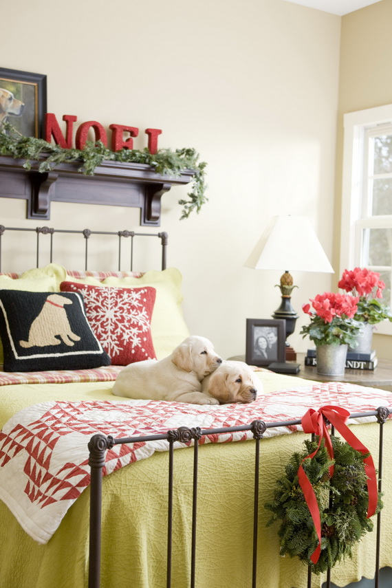 Adorable Bedroom Decor Ideas For Christmas and Special Occasion _08