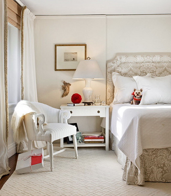 Adorable Bedroom Decor Ideas For Christmas and Special Occasion _09